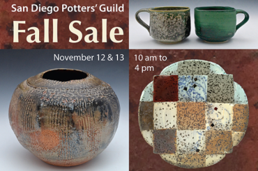 San Diego Potters' Guild 2016 Fall Show