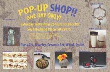 Pop Up Shop !