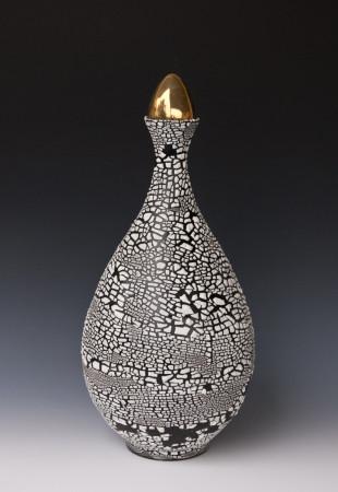 Bottle with Golden Egg