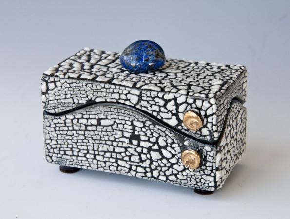 Jewelry Box with Lapis Lazuli