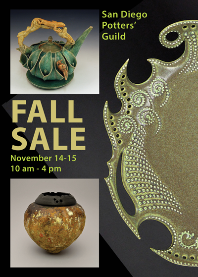 San Diego Potters' Guild November Sale