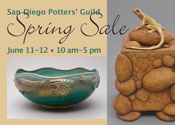 San Diego Potters' Guild June Show