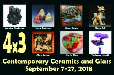 4×3: Contemporary Ceramics and Glass