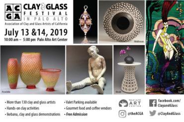 Clay & Glass Festival in Palo Alto 2019