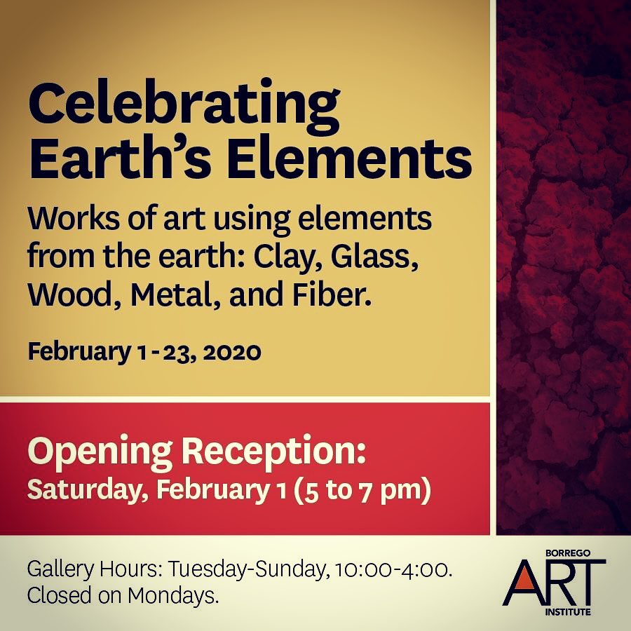 Celebrating Earth's Elements: Clay, Glass, Wood, Metal & Fiber